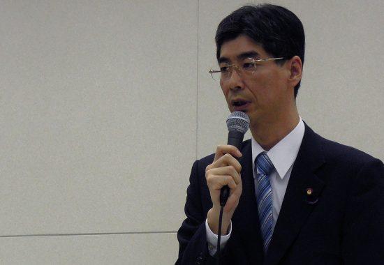 園田康博政務官