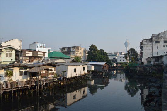 タイの運河