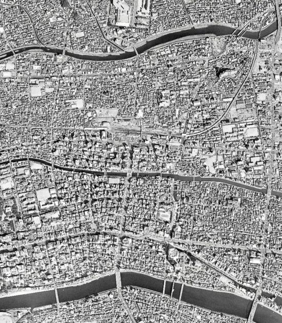 高知駅周辺の空中写真2004年02年26日撮影 国土地理院