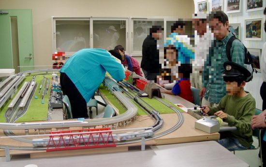 HOゲージ運転体験が加わった2008年