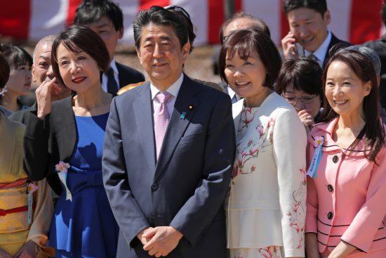 「桜を見る会」の安倍晋三