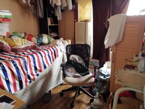 中国人留学生たちの下宿部屋