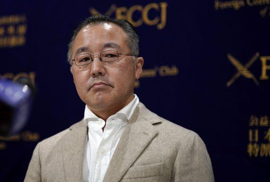 日本外国特派員協会で会見をした山口敬之氏