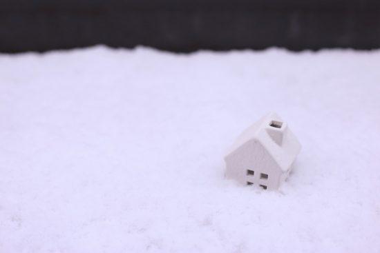 寒い家イメージ
