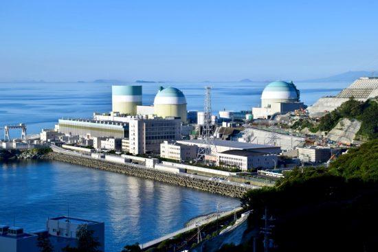 伊方発電所 特重工事がまだ始まっていないときの姿