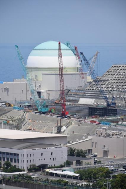 伊方発電所ですすめられる特重工事