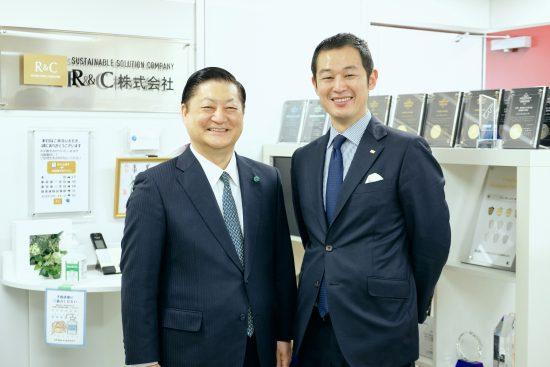 R&C株式会社代表取締役・足立哲真氏とモチベーションファクター株式会社代表取締役・山口博氏