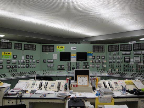福島第一原子力発電所 中央制御室