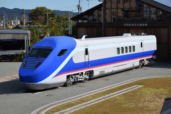 軌間可変電車第二次試験車両先頭車GCT01-201