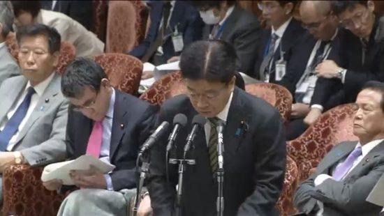 2月26日衆院予算委員会の加藤勝信厚生労働大臣