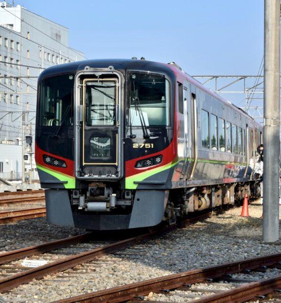 JR四国新型特急用気動車2700系2