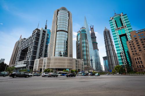上海の金融街