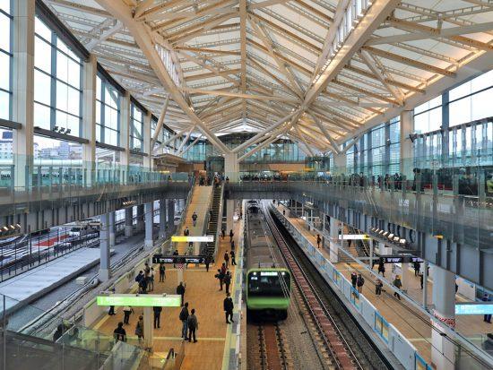 3月14日に開業した高輪ゲートウェイ駅