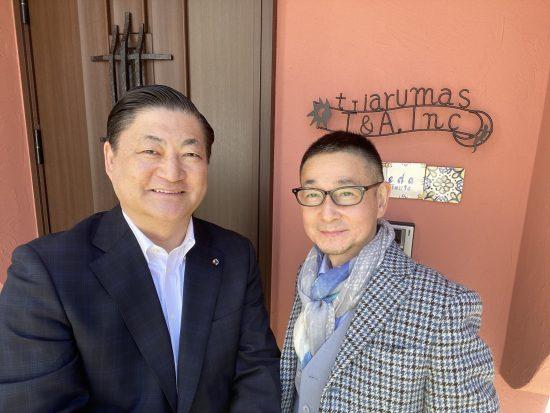 山口博氏(左)と武田淳氏(右)