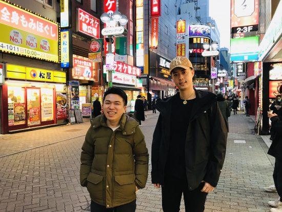 MC正社員(左)と怨念JAP(右)