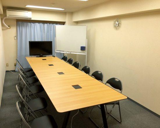 貸し会議室として運用中。