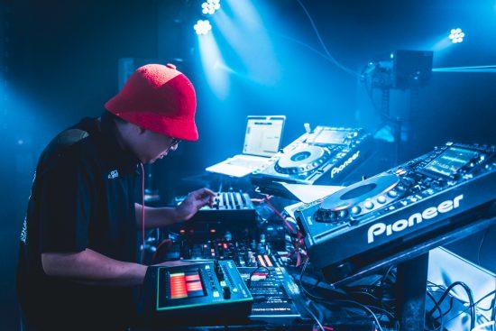 DJ中の筆者