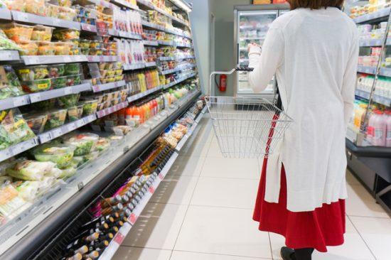 スーパーの店内イメージ