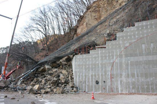 2017年12月に起きたトンネルの外壁崩落