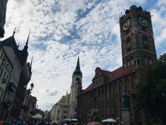 トルンの旧市街の様子