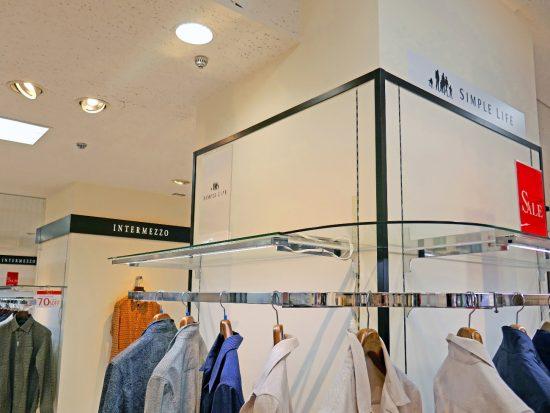 経営破綻によって多くが閉店することとなったレナウンの店舗