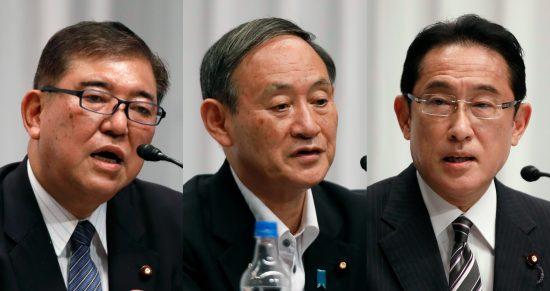 総裁選3候補