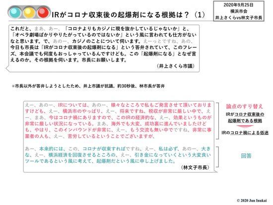 0925 林文子横浜市長答弁