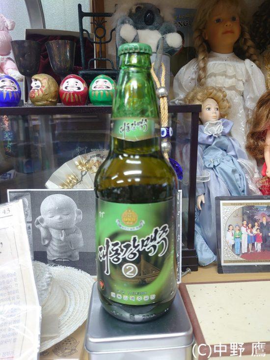 かつて韓国へ輸入されていた大同江ビール
