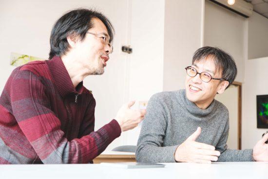 七里圭さん(左)と檜垣智也さん(右)