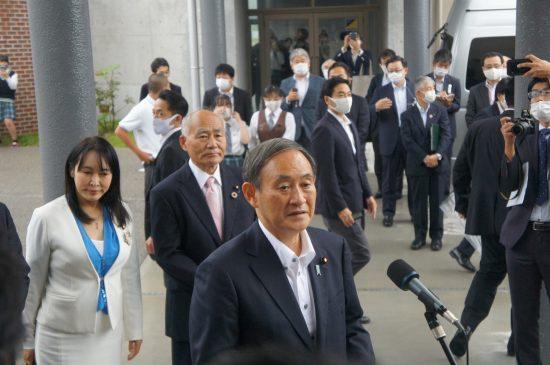 9月26日、福島を訪問した菅首相