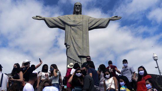 Coronavirus cases in Rio de Janeiro Brazil