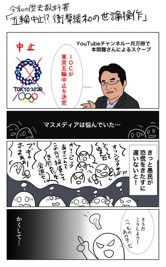 東京五輪中止説1