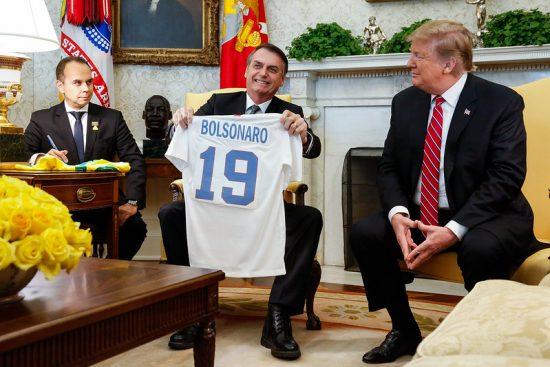 ボルソナロ大統領とトランプ大統領