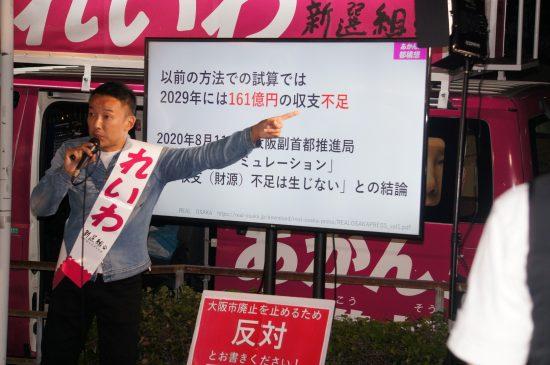 ゲリラ街宣を繰り返したれいわ新選組の山本太郎代表