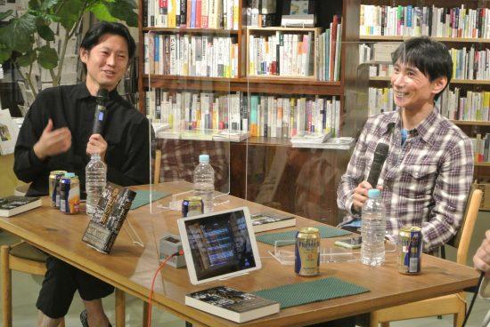 1990年代のホスト界を牽引した森沢拓也氏(右)、手塚マキ氏(左)