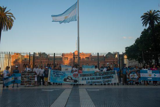 Ara San Juan Submarine One Year Anniversary In Buenos Aires