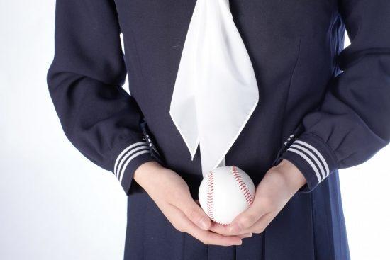 野球少女イメージ