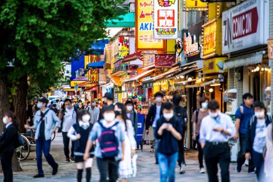 2020年10月中旬の東京