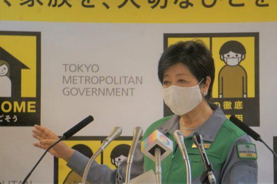 1月22日の都知事会見でも、五輪開催強行の姿勢を露わにした小池知事