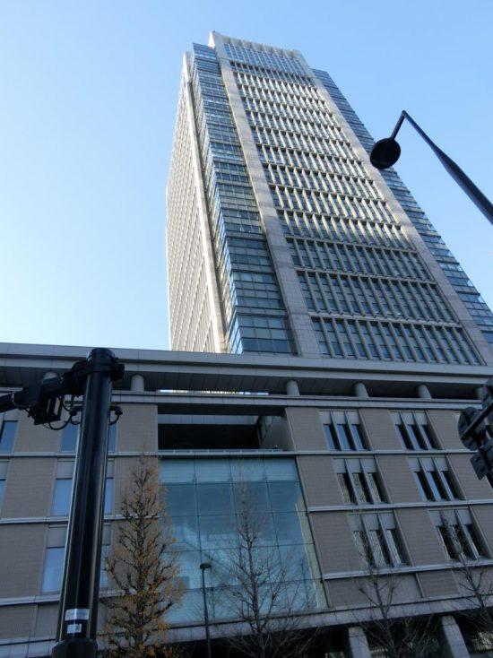 オープンハウス本社ビルが入居する高層ビル(東京都千代田区)