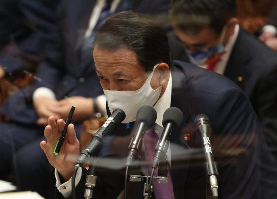 追加給付を否定した麻生太郎副総理兼財務相