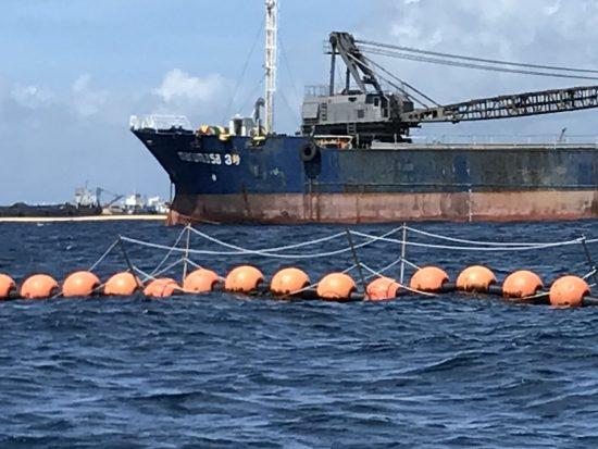 ジュゴンの鳴き声が検出された大浦湾K4地点付近
