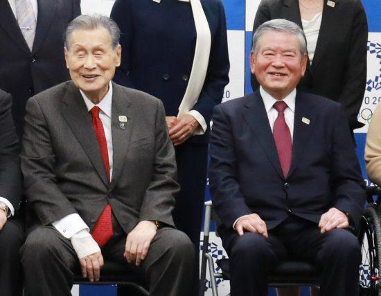 森喜朗と川淵三郎