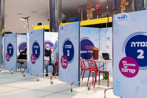 イスラエルのワクチンステーション