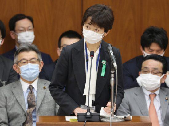 山田真貴子前内閣広報官