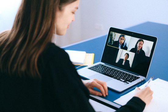 ビデオ会議のイメージ画像