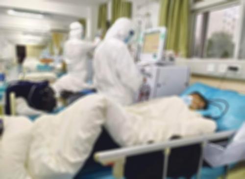コロナ入院イメージ