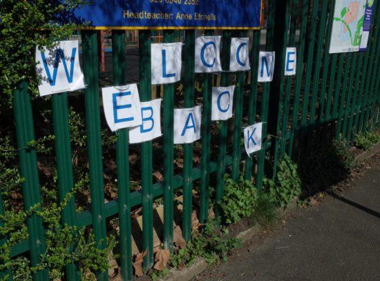 再開した学校の生徒たちへのメッセージ