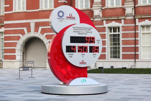 Tokyo,,Japan,-,April,15,,2021:,Clock,On,Tokyo,Station's